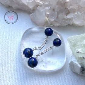 Lapis Lazuli Chain Cufflinks
